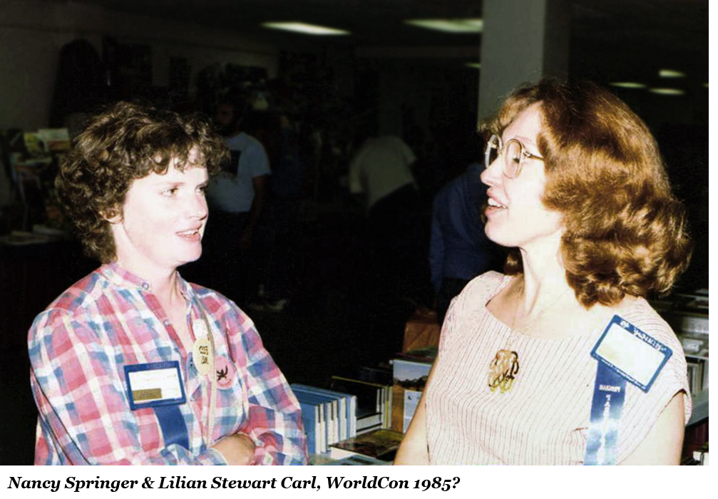 Nancy Springer and Lilian Stewart Carl, WorldCon, Nancy Springer Biography