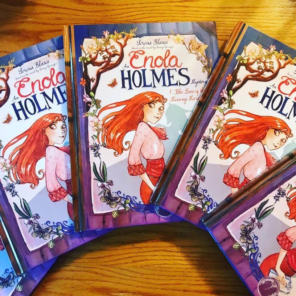 enola holmes mystery series