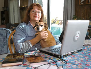nancy springer working author